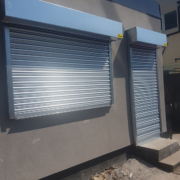 electric galvanised roller shutter Manchester
