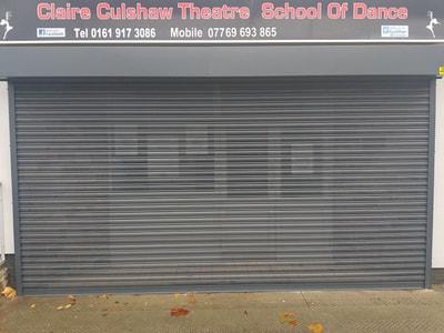 4.5 Meter Shutter In Anthracite Grey, Walkden Manchester