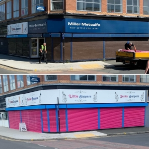 roller shutter installation in Manchester