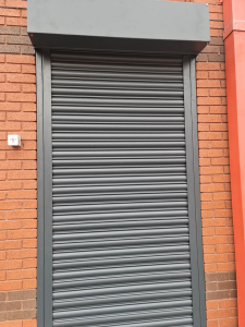 anthracite grey roller shutters