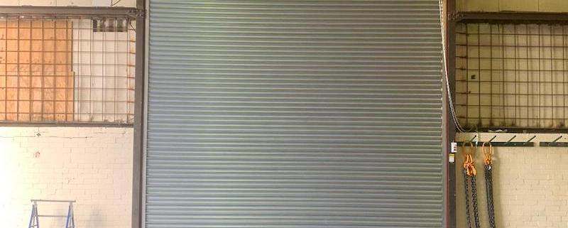 Roller shutters Manchester