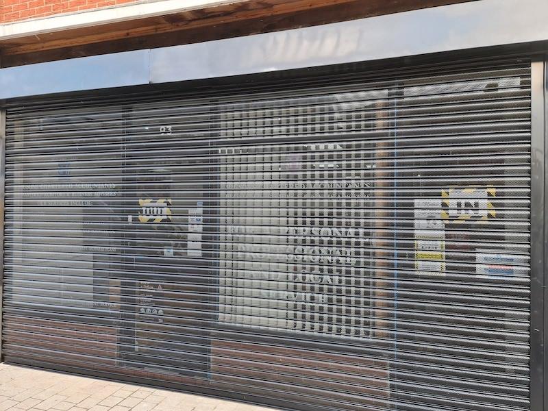 Shop Shutters Manchester